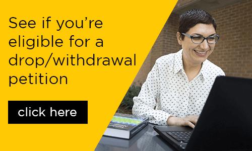 drop withdrawal