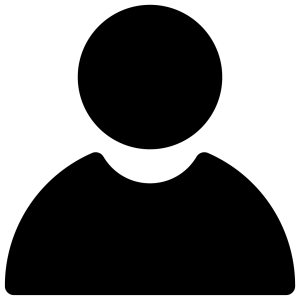 Blank silhouette of a person